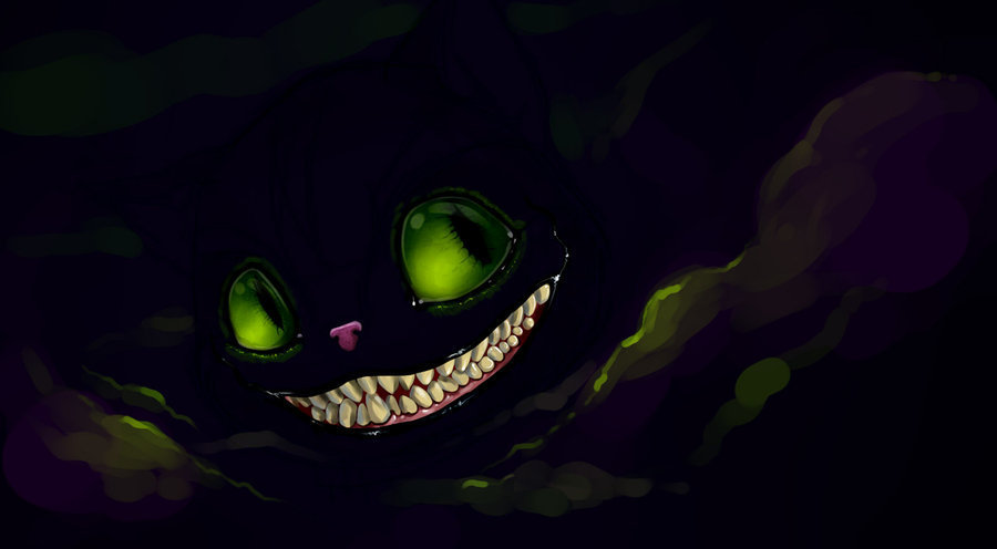 The Cheshire Cat image...