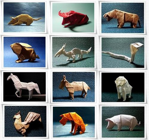 Chinese Zodiac Origami