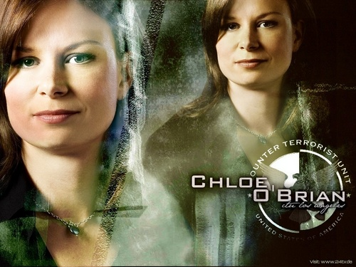 Chloe O&#39;Brian - 24 Wallpaper