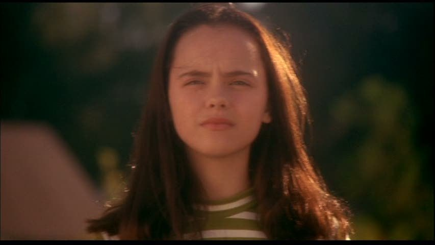Christina ricci now and then