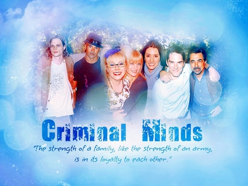 Criminal minds wall(celebrating 100)