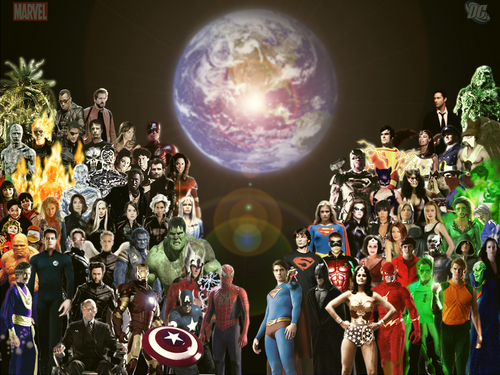 DC vs Marvel :)