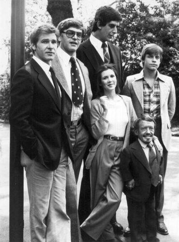 Han Solo, Darth Vader, Chewbacca, Luke Skywalker, Princess Leia, & r2d2! ( In order )