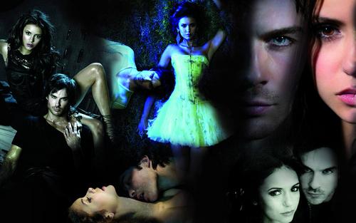 Damon&Elena দেওয়ালপত্র