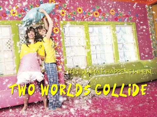 Demi & Selena - Two Worlds Collide