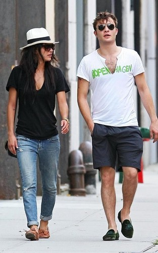 Ed Westwick and Jessica Szohr out in NYC (September 2)