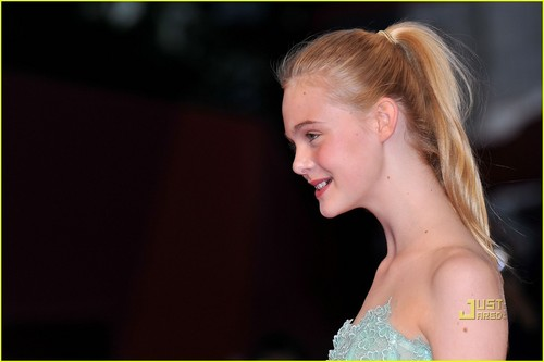 "Elle Fanning Premieres ""Somewhere"" in Venice"