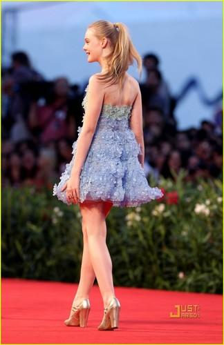 "Elle Fanning Premieres ""Somewhere"" in Venice"
