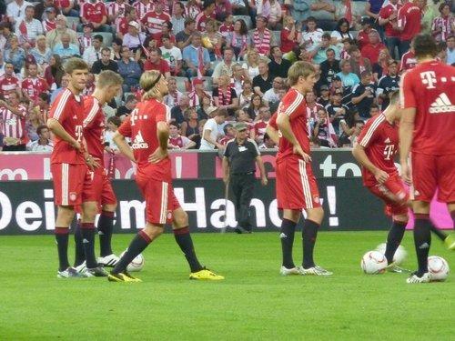 FC Bayern vs. VfL Wolfsburg