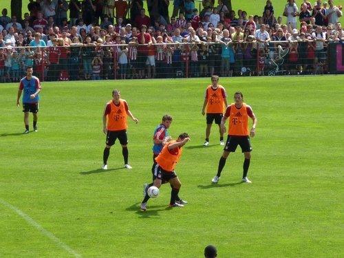 FCB Munich Training