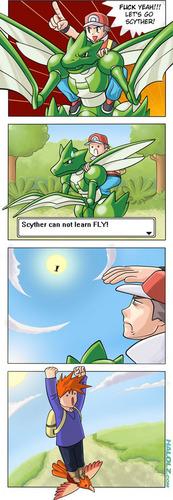 Fly, pokemon!
