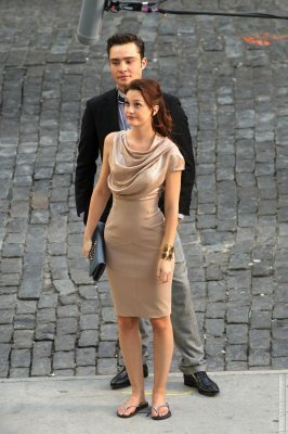 Gossip Girl on set August 31