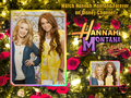 HANNAH MONTANA FOREVER frame & edit VERSION exclusive WALLPAPERS AS A PART OF 100 DAYS of HANNAH!!! - hannah-montana wallpaper