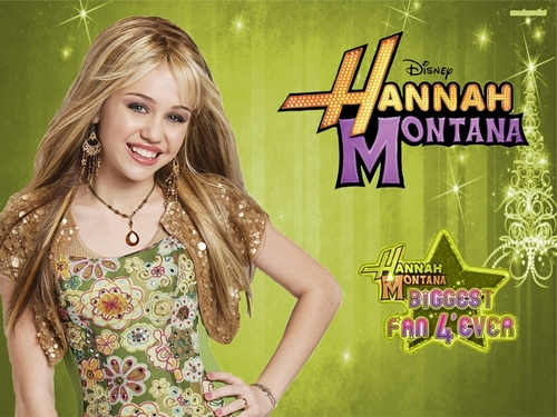 Hannah Montana biggest fan 4'ever wallpaper by megha