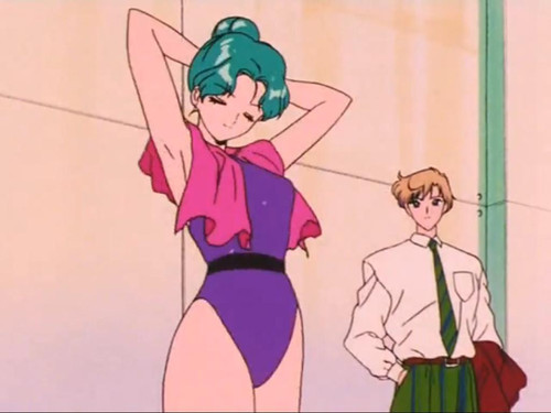 Sailor Uranus and Sailor Neptune karatasi la kupamba ukuta probably containing anime called HaruMichi