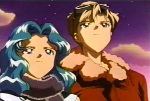 Sailor Uranus and Sailor Neptune karatasi la kupamba ukuta with anime called HarukaMichiru