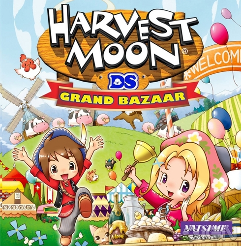 Harvest Moon : Grand Bazaar DS