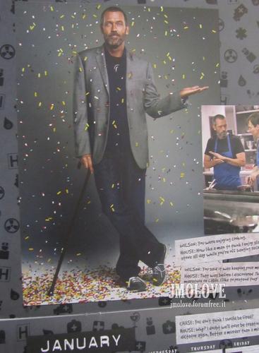 House - 2011 uithangbord Calendar Scans
