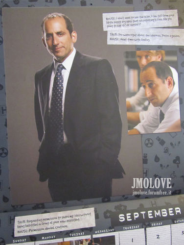House - 2011 dinding Calendar Scans
