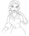 How to Draw Belle
