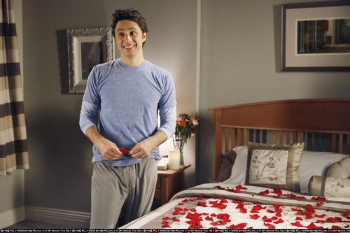 Scrubs wallpaper containing a bedroom and a living room titled J.D. & Roses