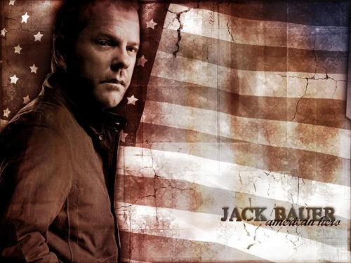 24 wallpaper possibly with a street and a sign entitled Jack Bauer