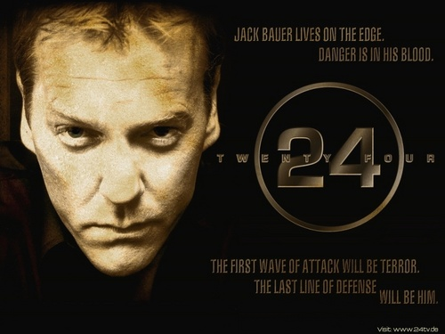24 wallpaper probably containing anime called Jack Bauer