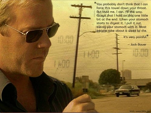 24 wallpaper containing sunglasses titled Jack Bauer