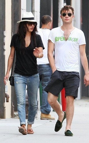Jessica & Ed out in NYC