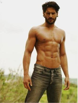 Joe Manganiello 바탕화면 probably with a six pack and a 큰 덩어리, 한 조각 entitled Joe