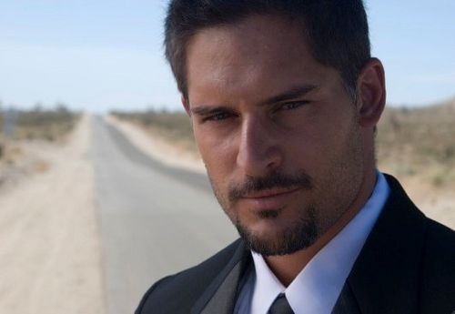 Joe Manganiello wallpaper containing a business suit and a suit entitled Joe