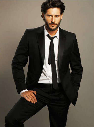 Joe Manganiello wallpaper containing a business suit, a suit, and a single breasted suit called Joe