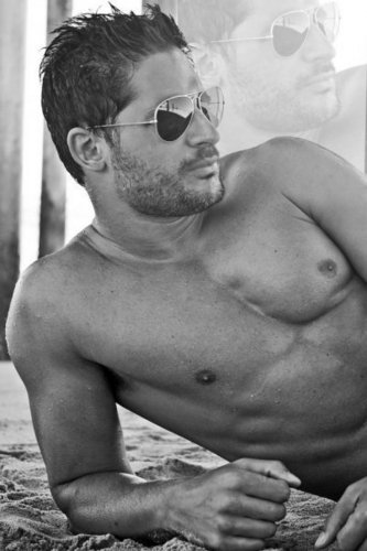 Joe Manganiello wallpaper possibly containing sunglasses, a hunk, and skin entitled Joe