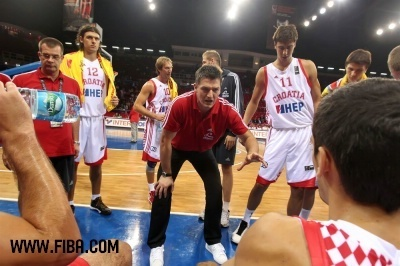 Josip VRANKOVIC (CROATIA) - basketball Photo