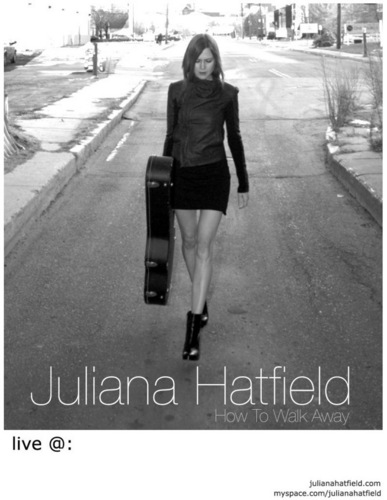 Juliana Hatfield tour poster
