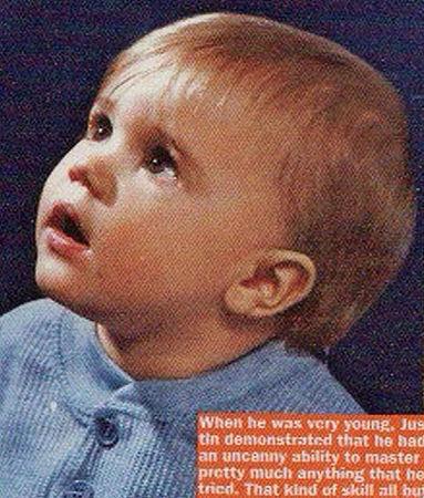 Justin B Baby