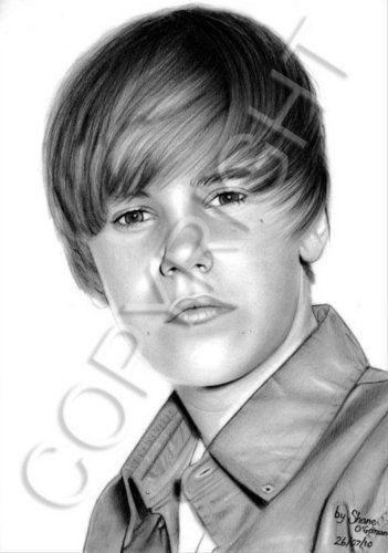 Justin Bieber wallpaper possibly with a green beret, regimentals, and battle dress called Justin Bieber Drawing