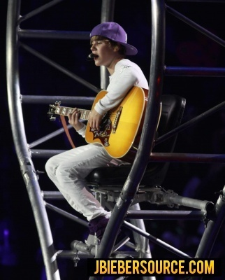 Justin Performing At Madison Square Garden Justin Bieber Photo 15243275 Fanpop