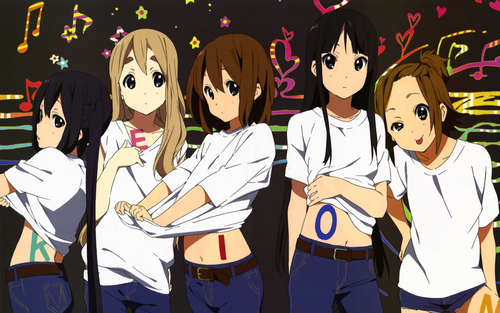 K-ON! wallpaper titled KEION