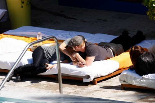 Kellan Lutz In Miami - 06 Feb 2010