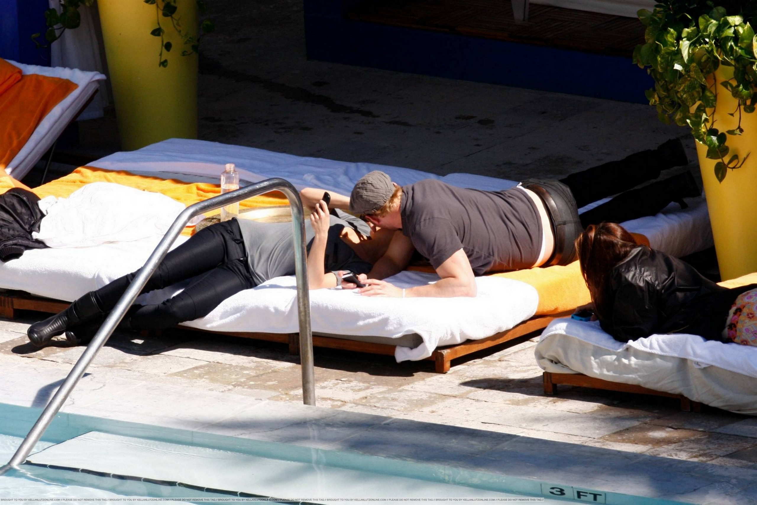 Kellan Lutz In Miami - 06 Feb 2010