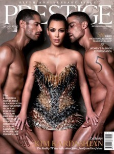 "Kim Kardashian Reveals Her ""Most Risque Cover to Date"""