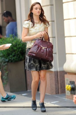 Leighton on the GG set September 2