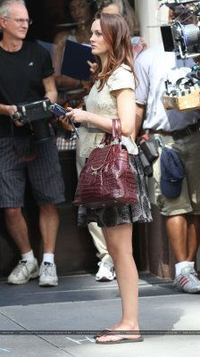 Leighton on the GG set Septermber 2
