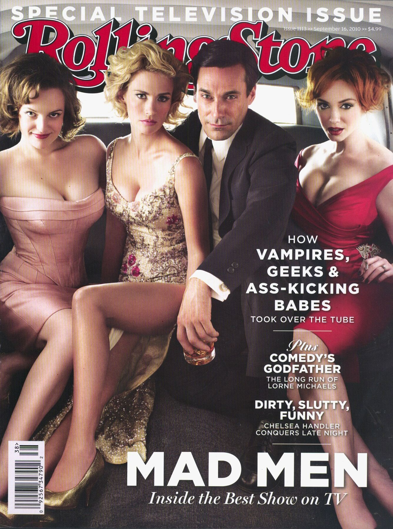 Mad Men Rolling Stone Fotos