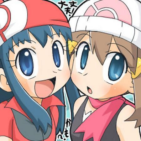 Misty, May, and Dawn wallpaper probably with anime titled May and Dawn