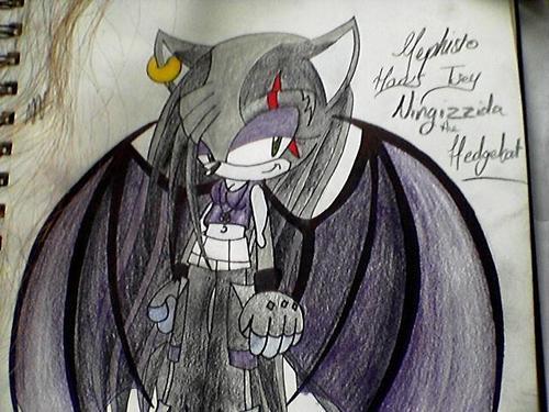 Mephistopheles Horus Tsey Ningizzida The Hedgehog-Bat. (me xD)