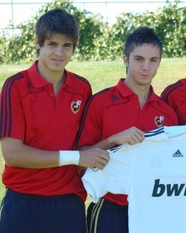 Morata playing with Spain U17 &Castilla