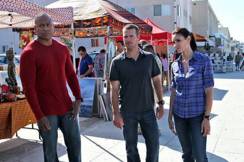 NCIS Enquêtes spéciales Los Angeles: 2.01 'Human Traffic' [Stills]
