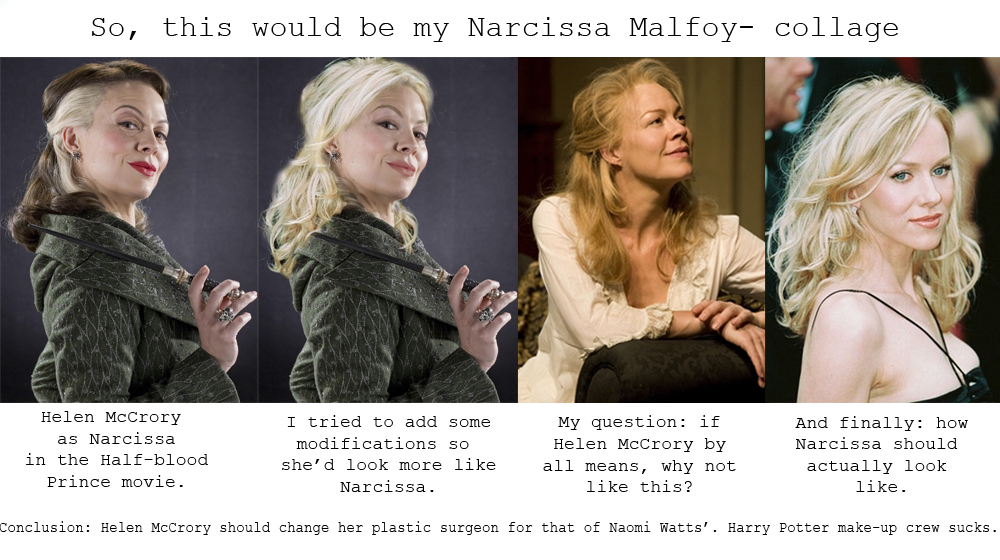 Narcissa Collage